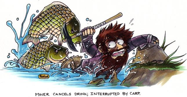 Carp_escape