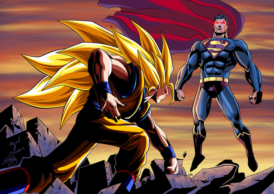 goku_vs_superman_colored_by_swave18-d5smxnn