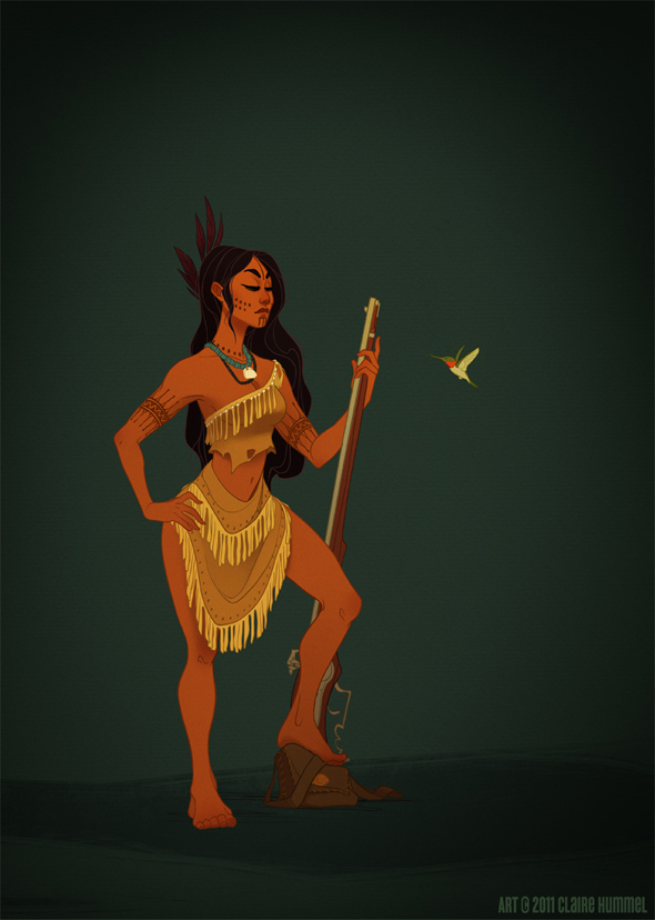 disney-princess-in-accurate-period-clothing-chicquero-fashion-pocahontas
