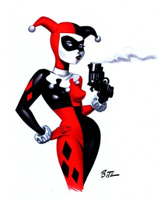 Harley-Quinn-by-Bruce-Timm