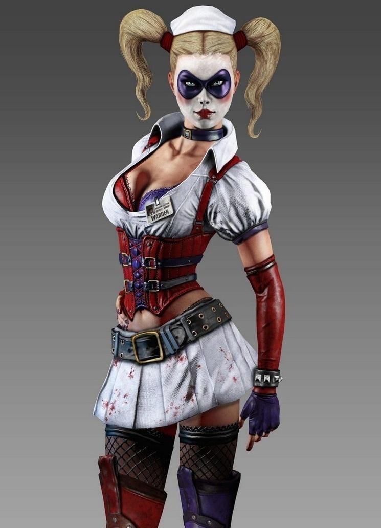 Arkham'da tanıdığınız Harley Quinn
