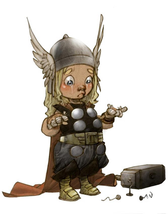 kid-thor