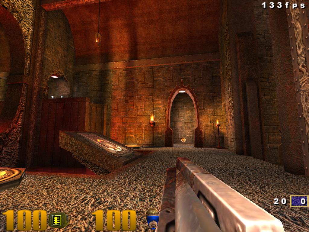 Ölüm oyunu gibi ölüm oyunu: Quake III