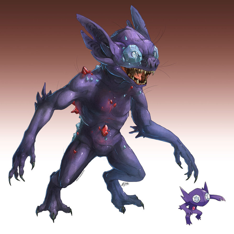 realistic_pokemon_sketches__sableye_by_nauvasca-d628rxl