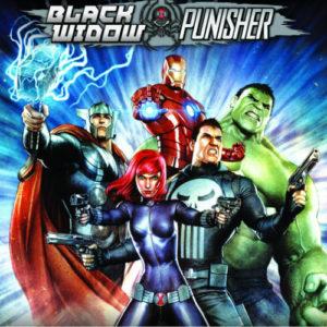 Black Widow Punisher