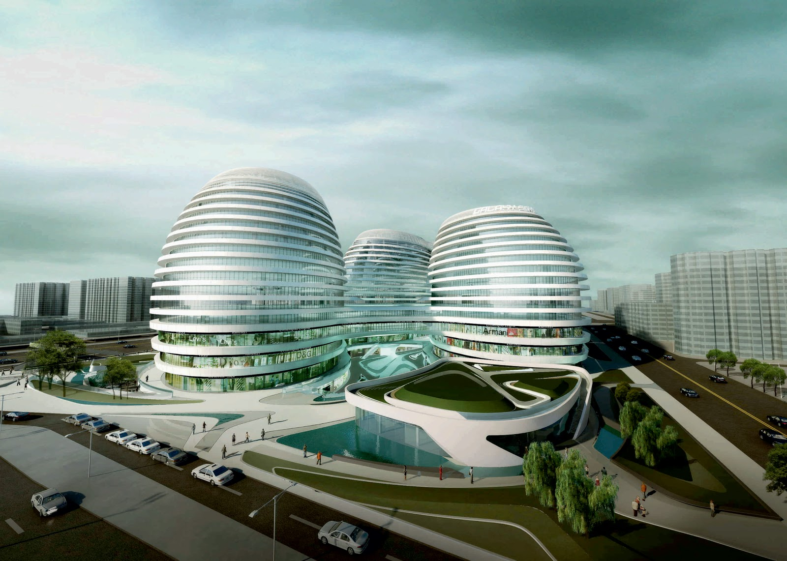 Galaxy Soho by Zaha Hadid Architects 12