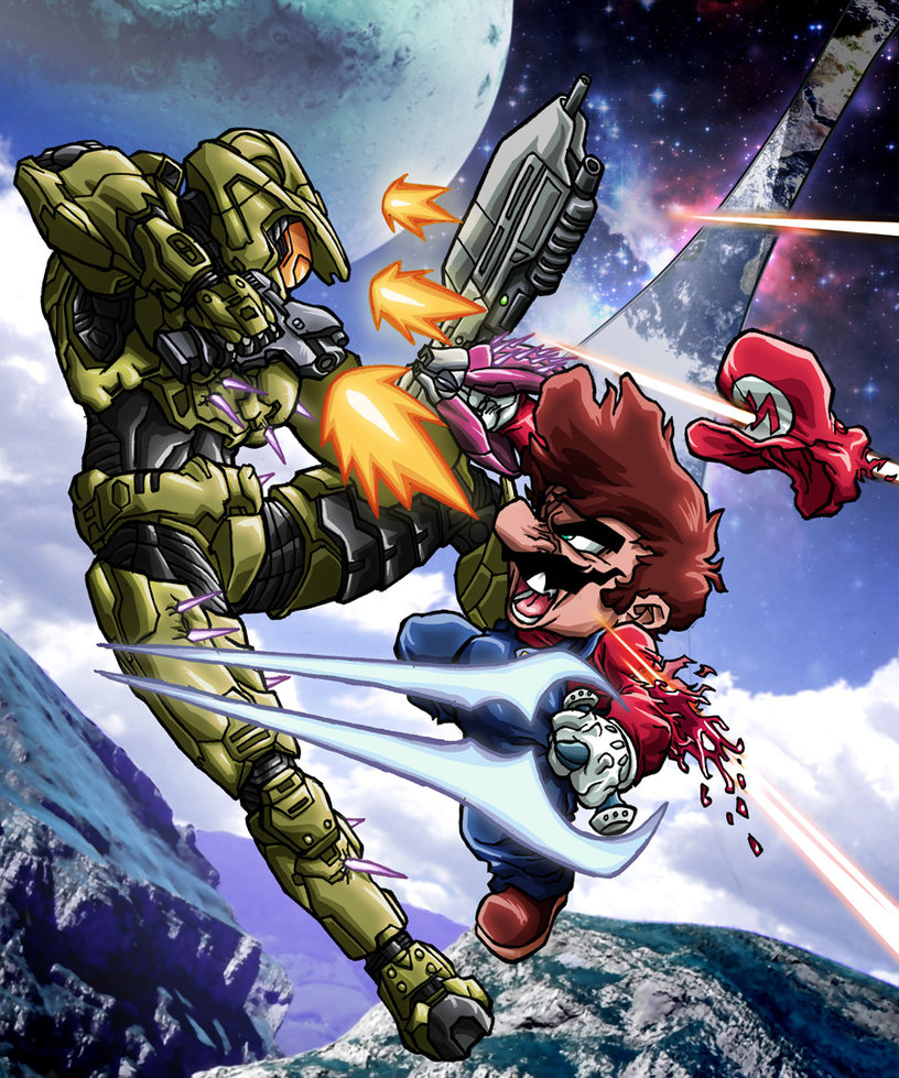 mario_vs__master_chief_by_hermesgildo-d4aoudx