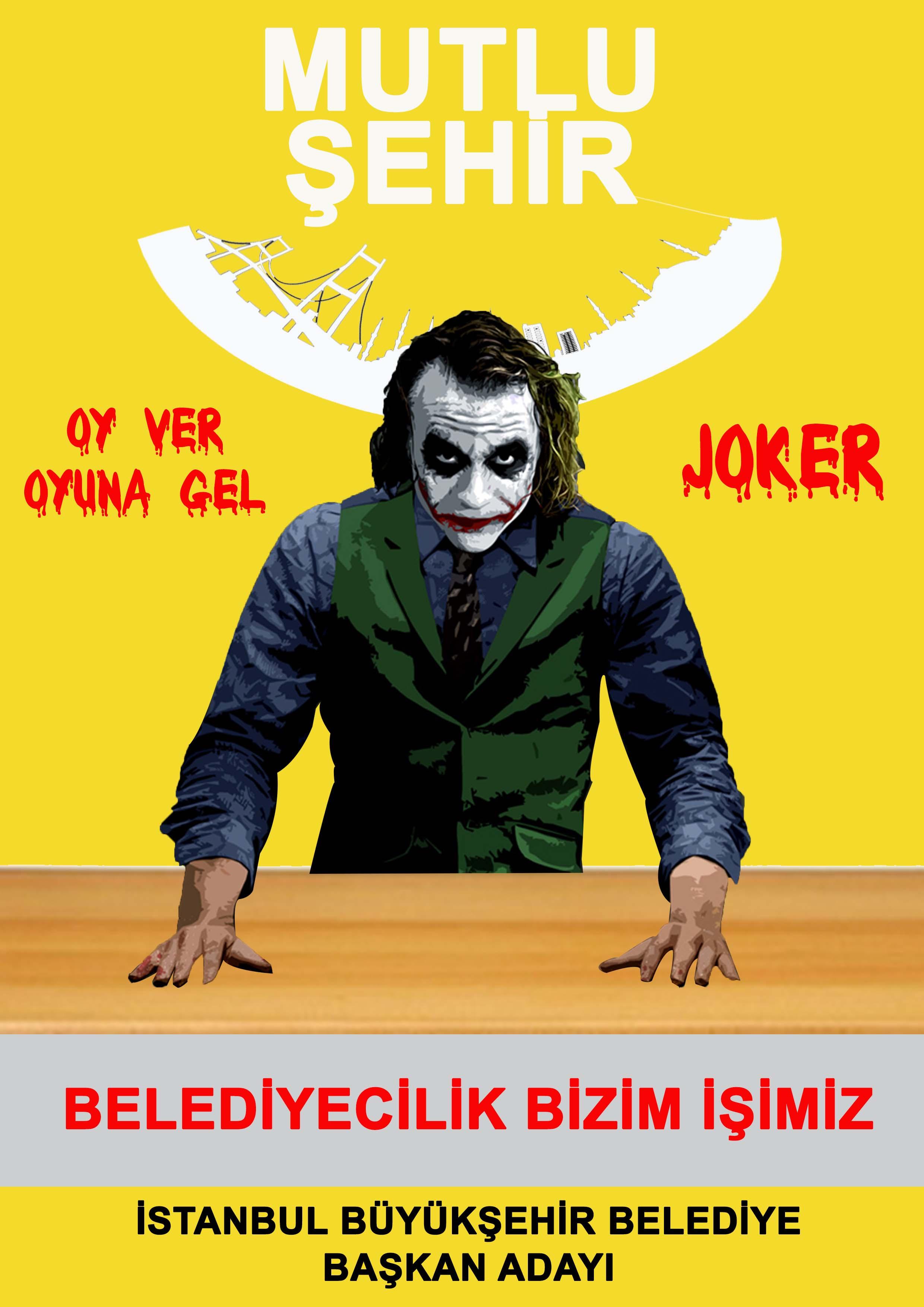 Jolly Joker belediye binası olacak.