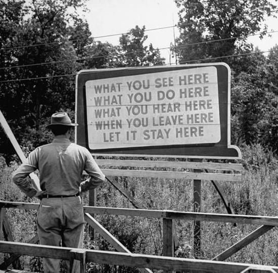1940'larda Oak Ridge'e hoşgeldiniz...