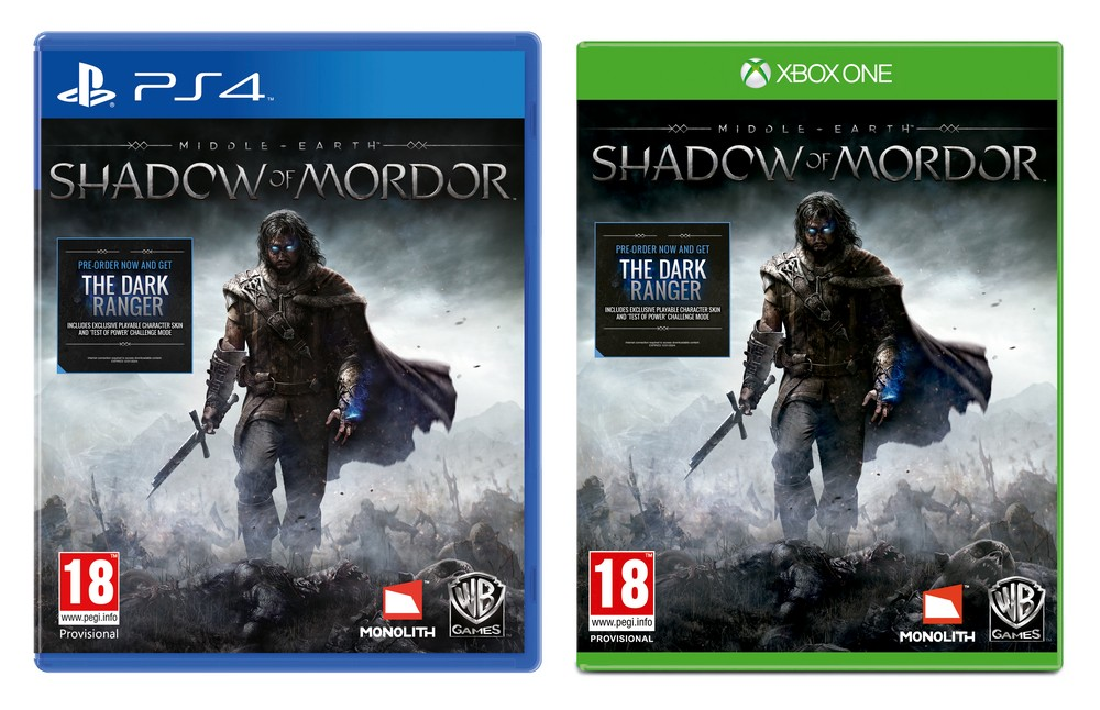 Middle Earth Shadow of Mordor Kapak