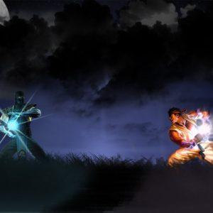 SubZero_VS_Ryu_by_deviilll