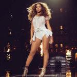 Beyonce'yi uzaktan takip ediyorum