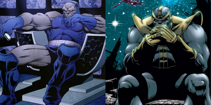 Darkseid - Thanos