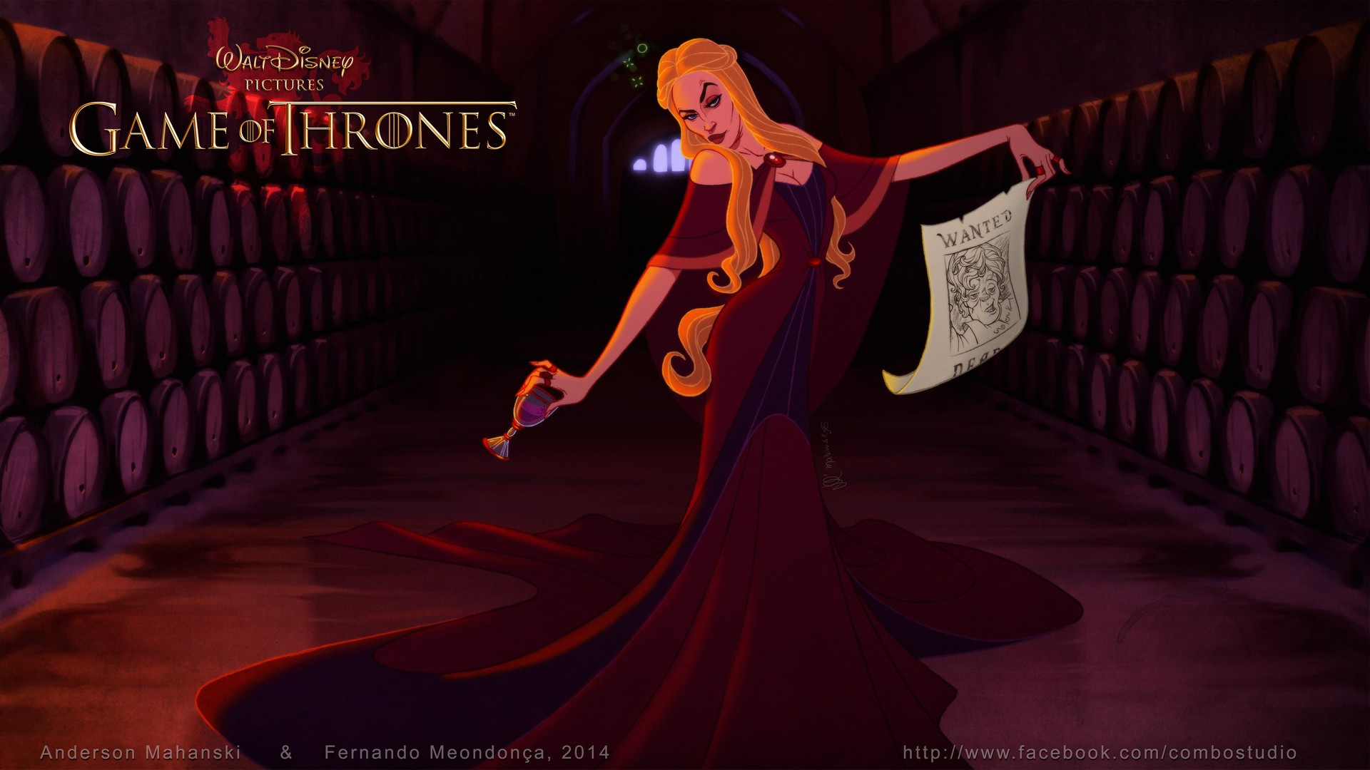 Game of Thrones Disney Cersei Lannister