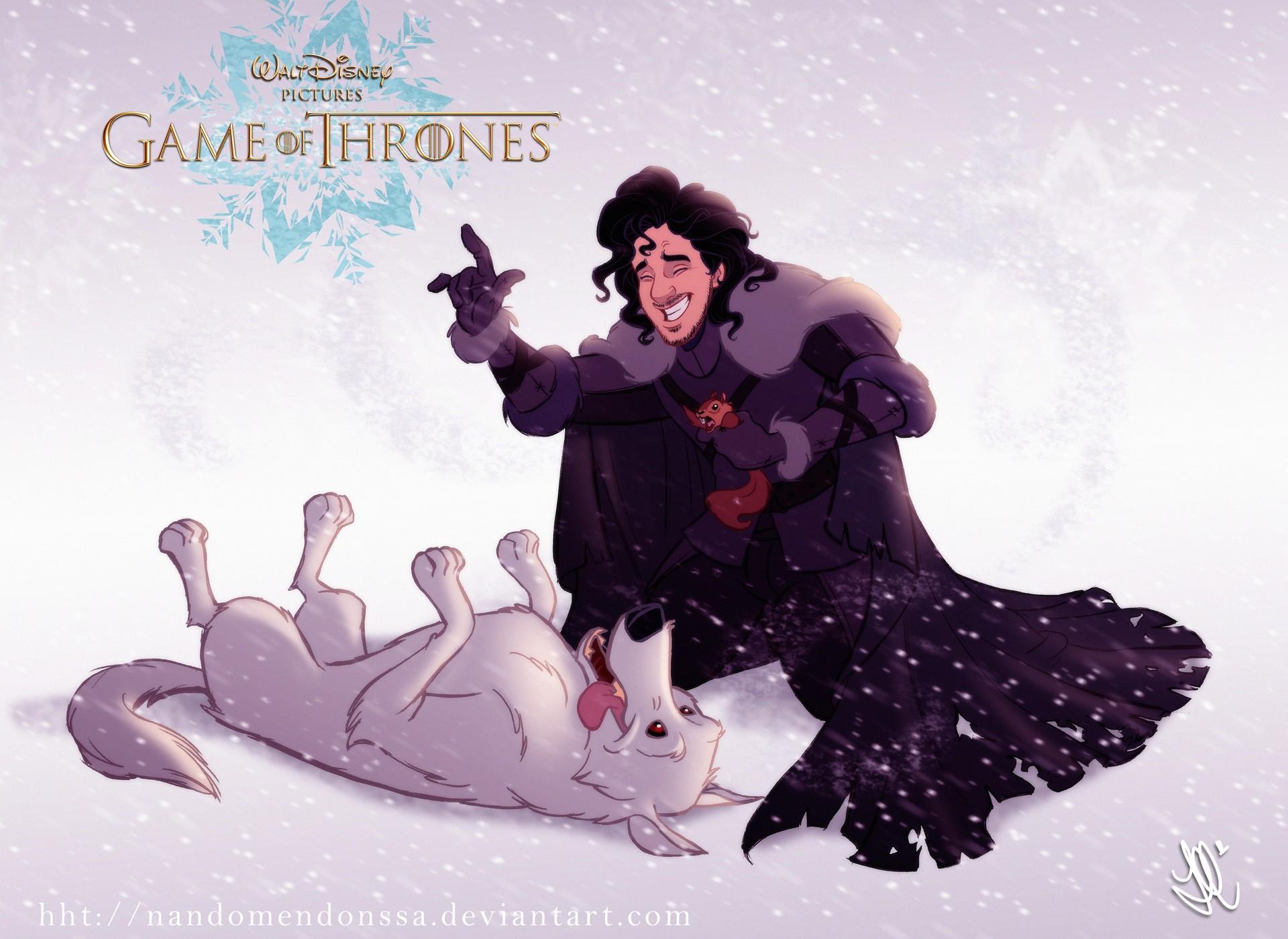 Game of Thrones Disney Jon Snow