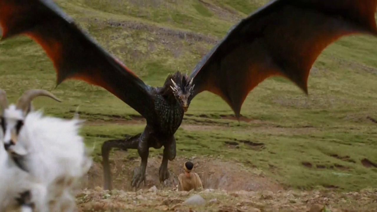 Game of Thrones S04E06 Dragon