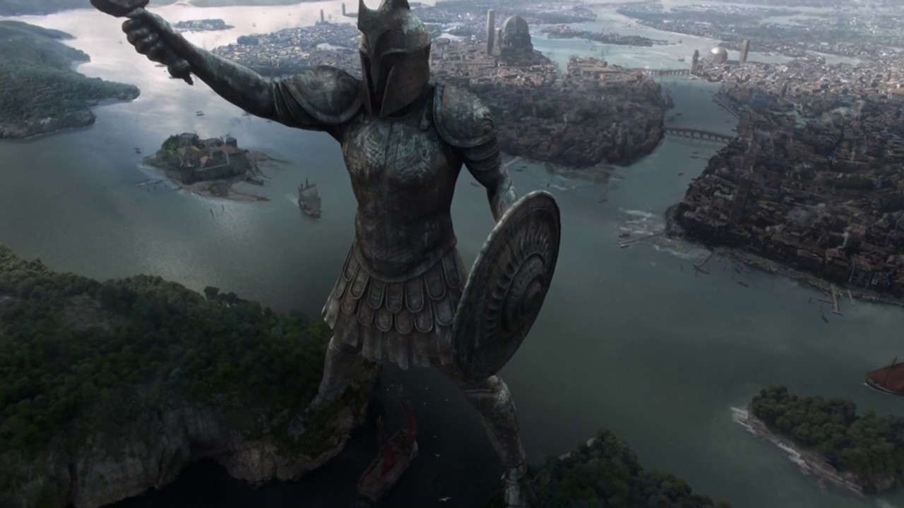 Game of Thrones S04E06 Statue