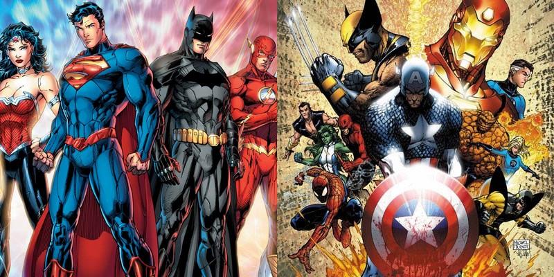 Justice League - Avengers