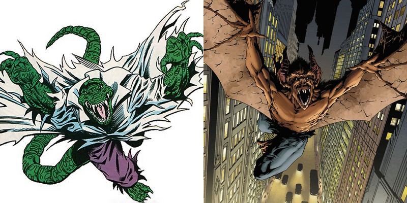 Lizard - Man-Bat