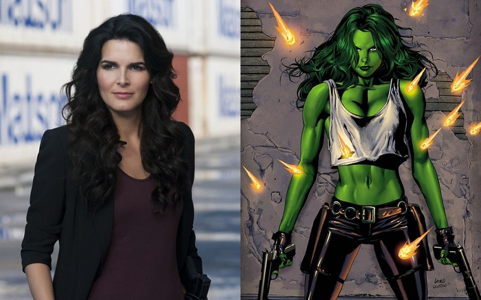She-Hulk Angie Harmon