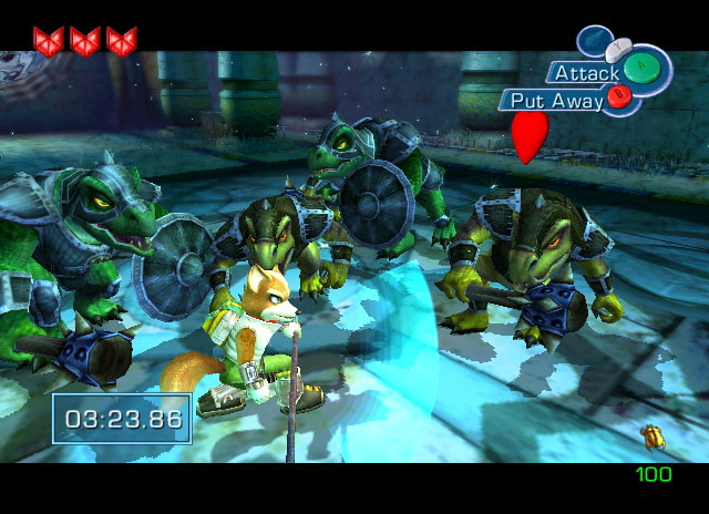 3 STar Fox Adventures