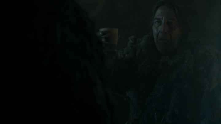 Game of Thrones Mance Rayder Jon Snow Sahnesi