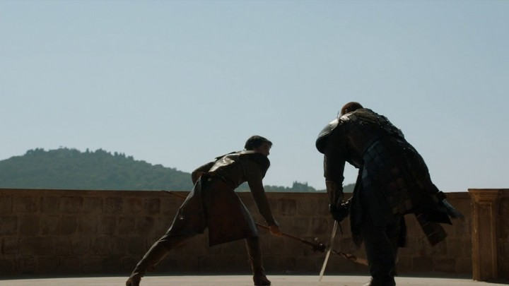 Game of Thrones Oberyn Mountain Düello Sahnesi