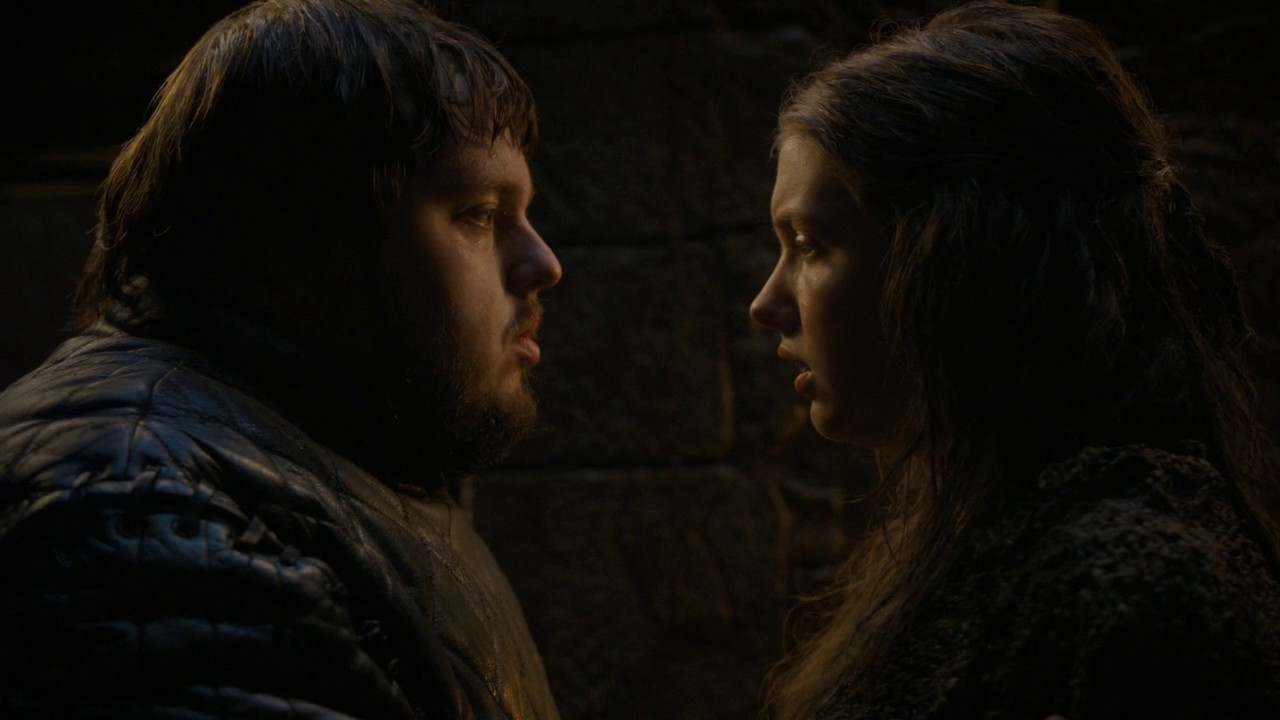 Game of Thrones S04E09 Sam and Gilly