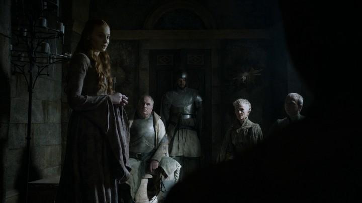 Game of Thrones Sansa Littlefinger Sahnesi