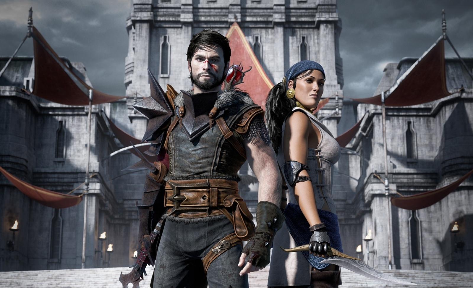 Wallpaper_Dragon_Age_2_Hawke_and_Isabela