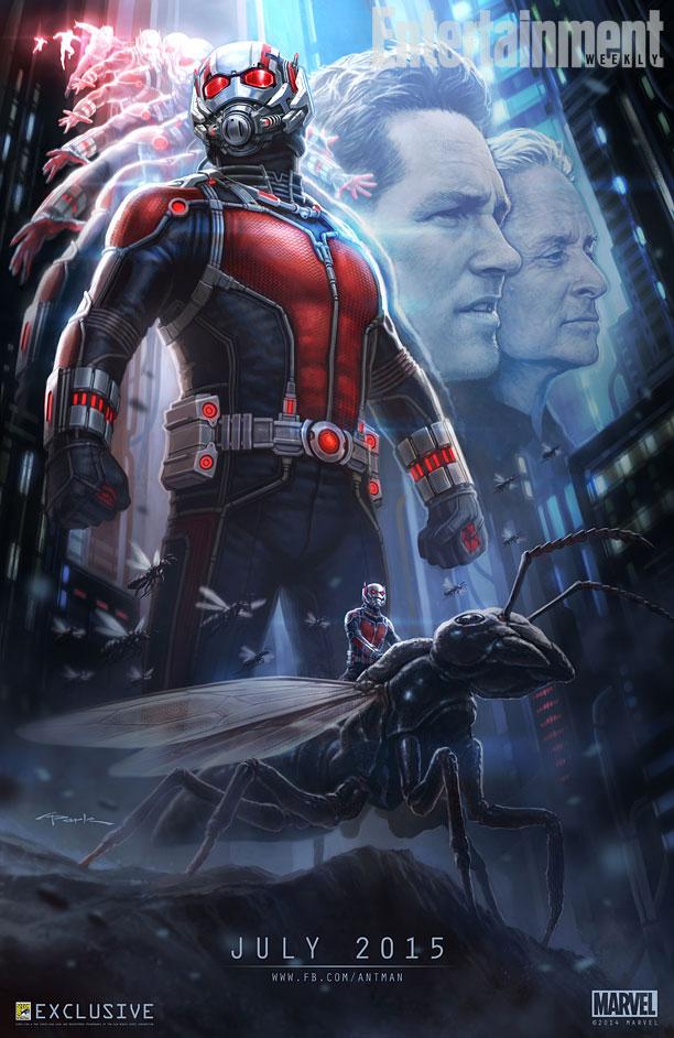 Ant-Man Comic-Con Afiş