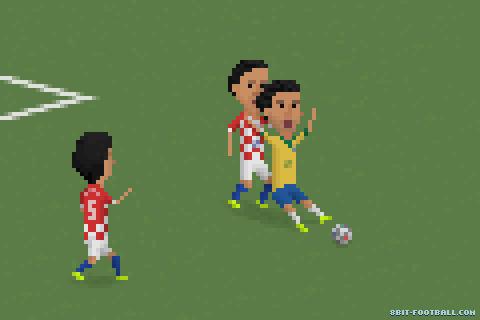 Kupanın ilk maçından Fred'in tartışmalı penaltı pozisyonu.