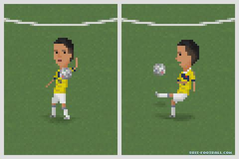 James Rodriguez'in unutulmaz golünün kontrolü ve dönüşü.