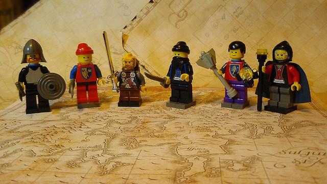 Lego DnD