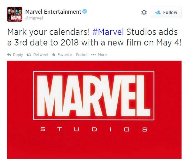 Marvel Release DAte