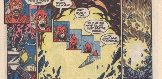 Barry Allen Ölüm