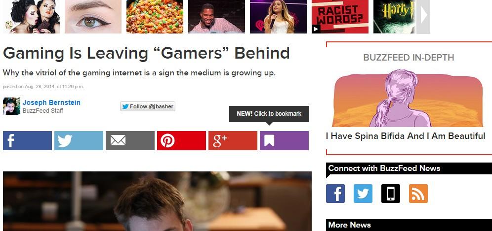 Buzzfeed Gamer DEad