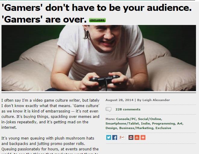 Gamasutra Gamer Dead