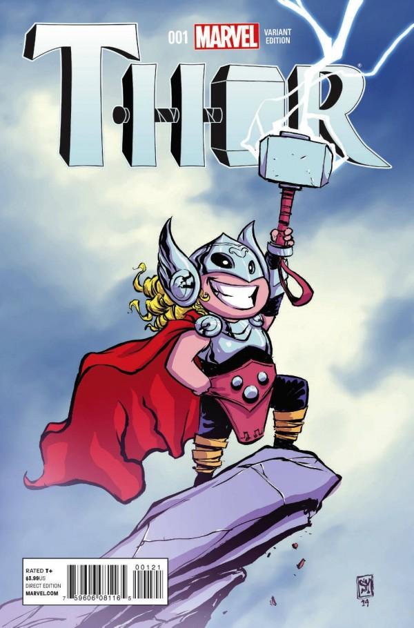 Kadın Thor Varyant Kapak 1