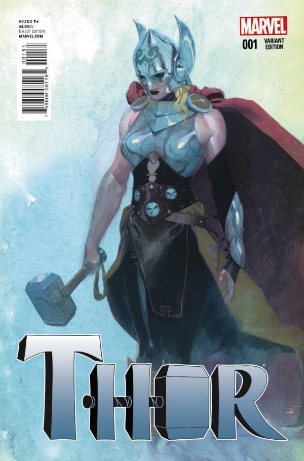 Kadın Thor Varyant Kapak 3