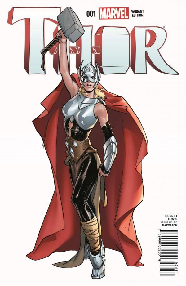 Kadın Thor Varyant Kapak 5