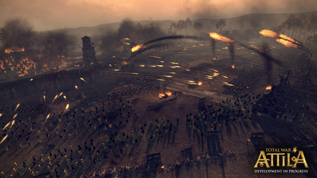 Total War ATTILA Battle Siege