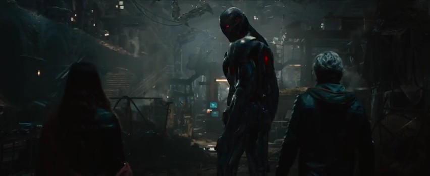 7 Avengers 2 Fragman Quicksilver Scarlet Witch Ultron