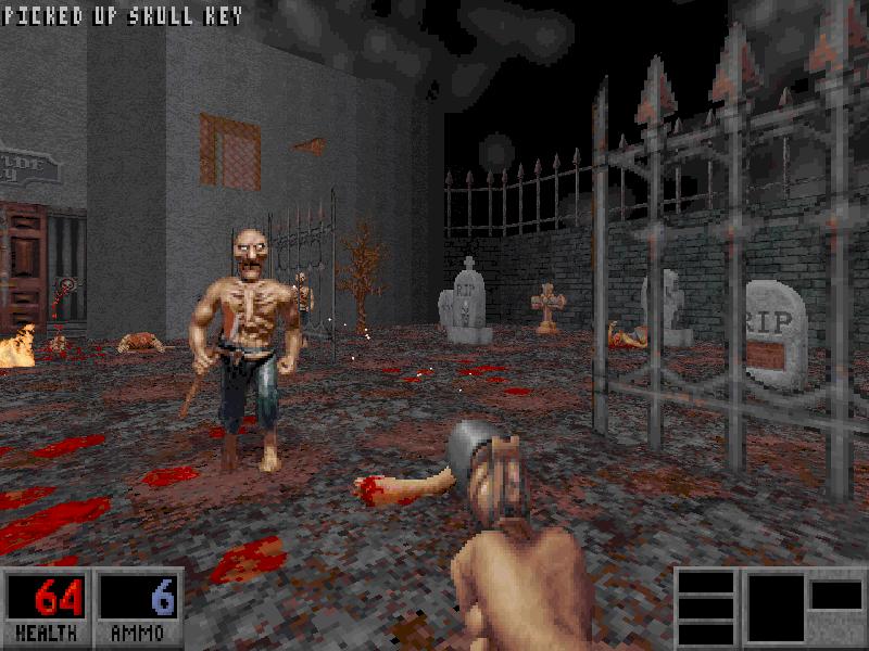 игра 90-х blood