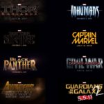 MARVEL CINEMATIC UNIVERSE PLAN