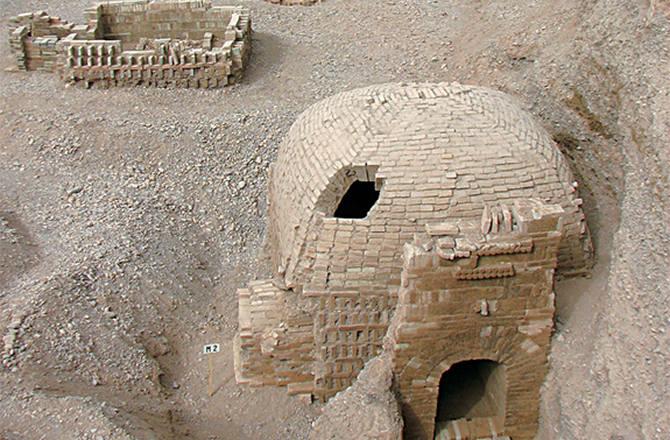 Çin Antik Mezar