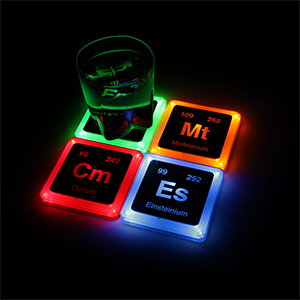 1cad_radioactive_glowing_element_coaster_set_geekpoints