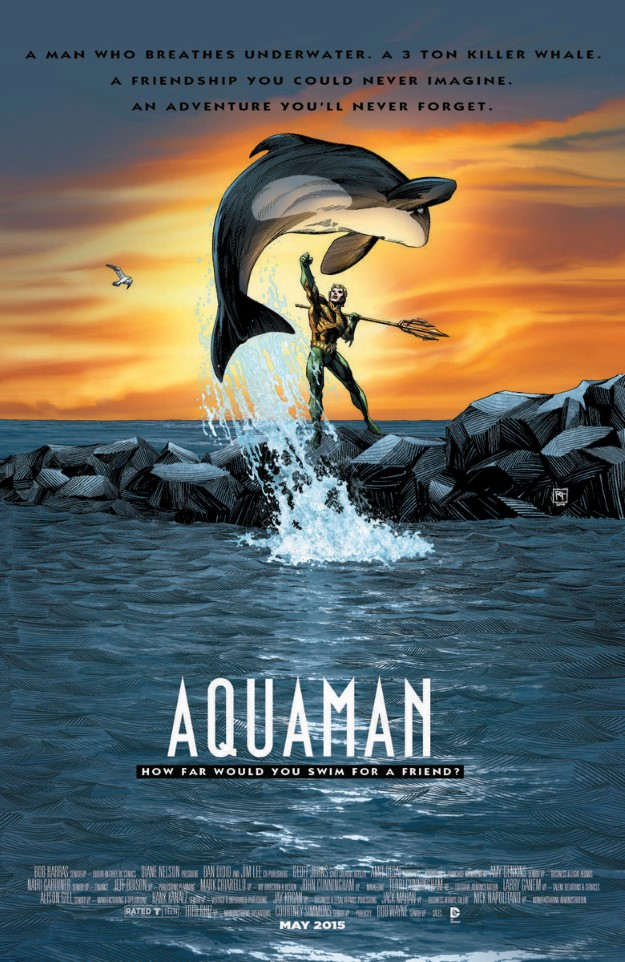 20 Aquaman - Free Willy
