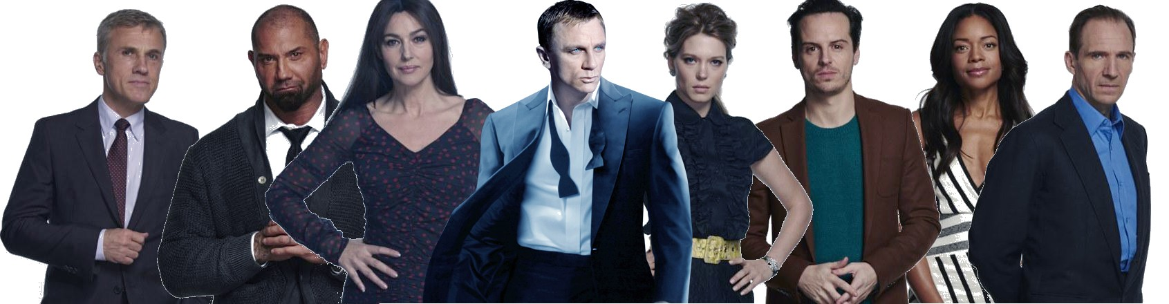 24 Bond Spectre Cast