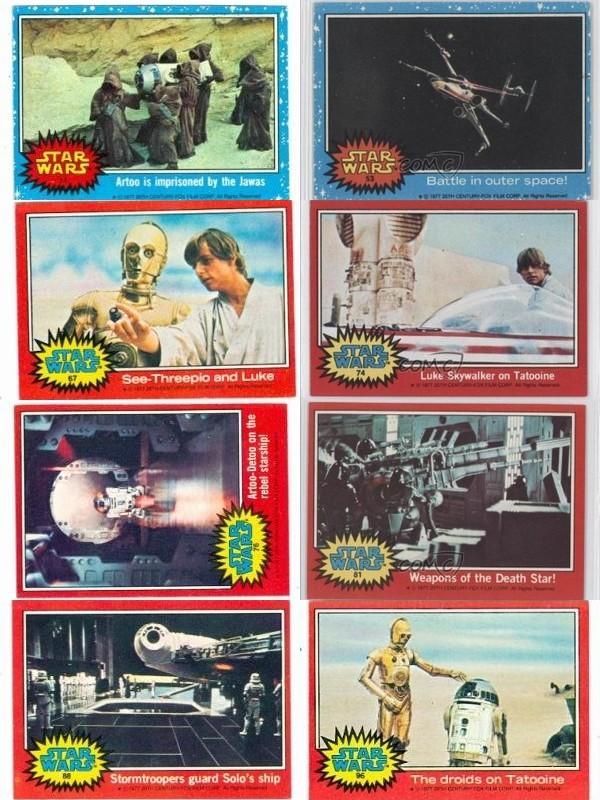 Star Wars The Force Awakens Karakter İsimleri 1977 Orijinal Set